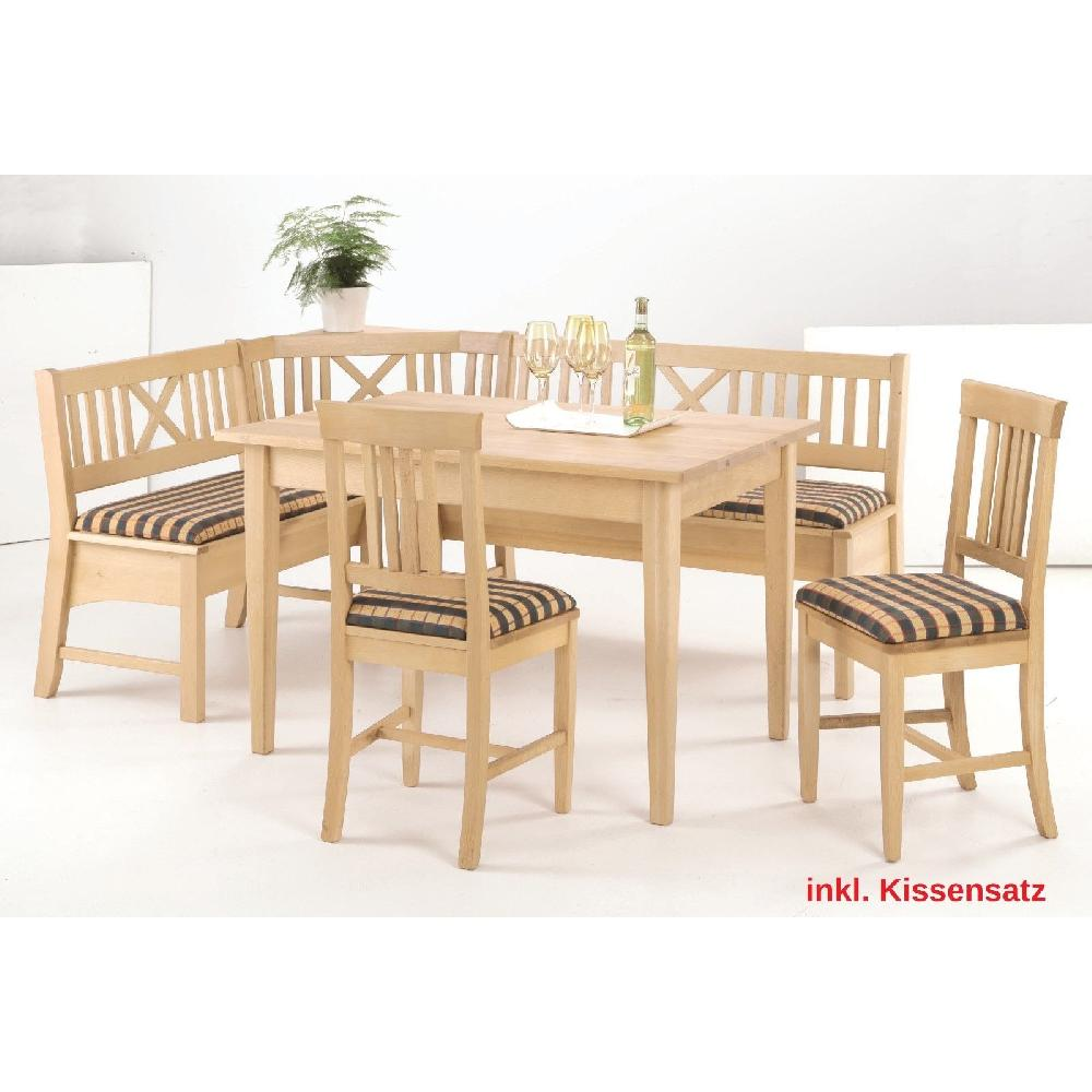 eckbankgruppe starnberg 145 x 185cm inkl kissen 3x stuhl. Black Bedroom Furniture Sets. Home Design Ideas