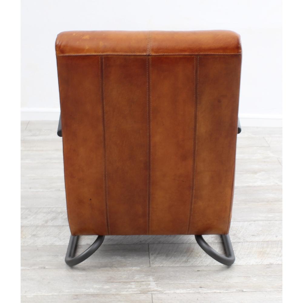 Vintage Ledersessel Echt Büffel Leder Industrielook Sessel Retro