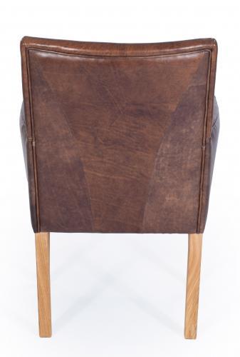 aktiv armlehnenstuhl sessel designer regensburg echt leder vintage dunkelbraun eiche. Black Bedroom Furniture Sets. Home Design Ideas