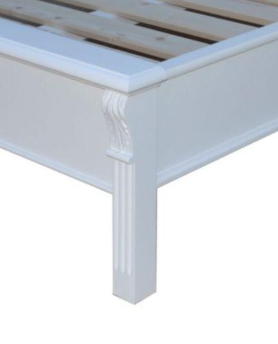 Gut gemocht aktiv-moebel.de - Bett Bettgestell 180 X 200 cm Fichte massiv weiß GX11