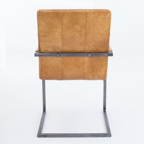 schwingstuhl freischwinger designer kassel echt leder. Black Bedroom Furniture Sets. Home Design Ideas