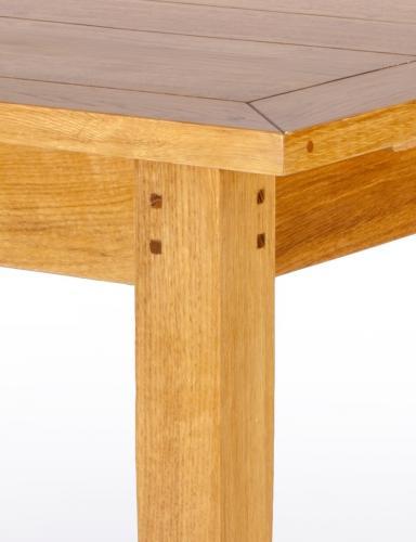aktiv esstisch ausziehtisch eiche massiv designer provance 160 220 cm korn lack. Black Bedroom Furniture Sets. Home Design Ideas