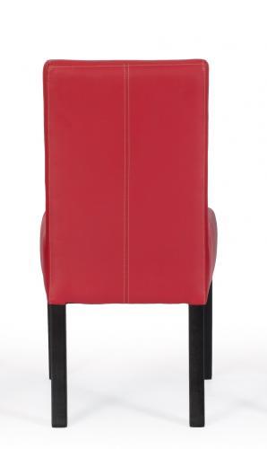 Aktiv Moebel De 2 Er Stuhlset Sessel Stuhl Poplow Kunstleder Rot