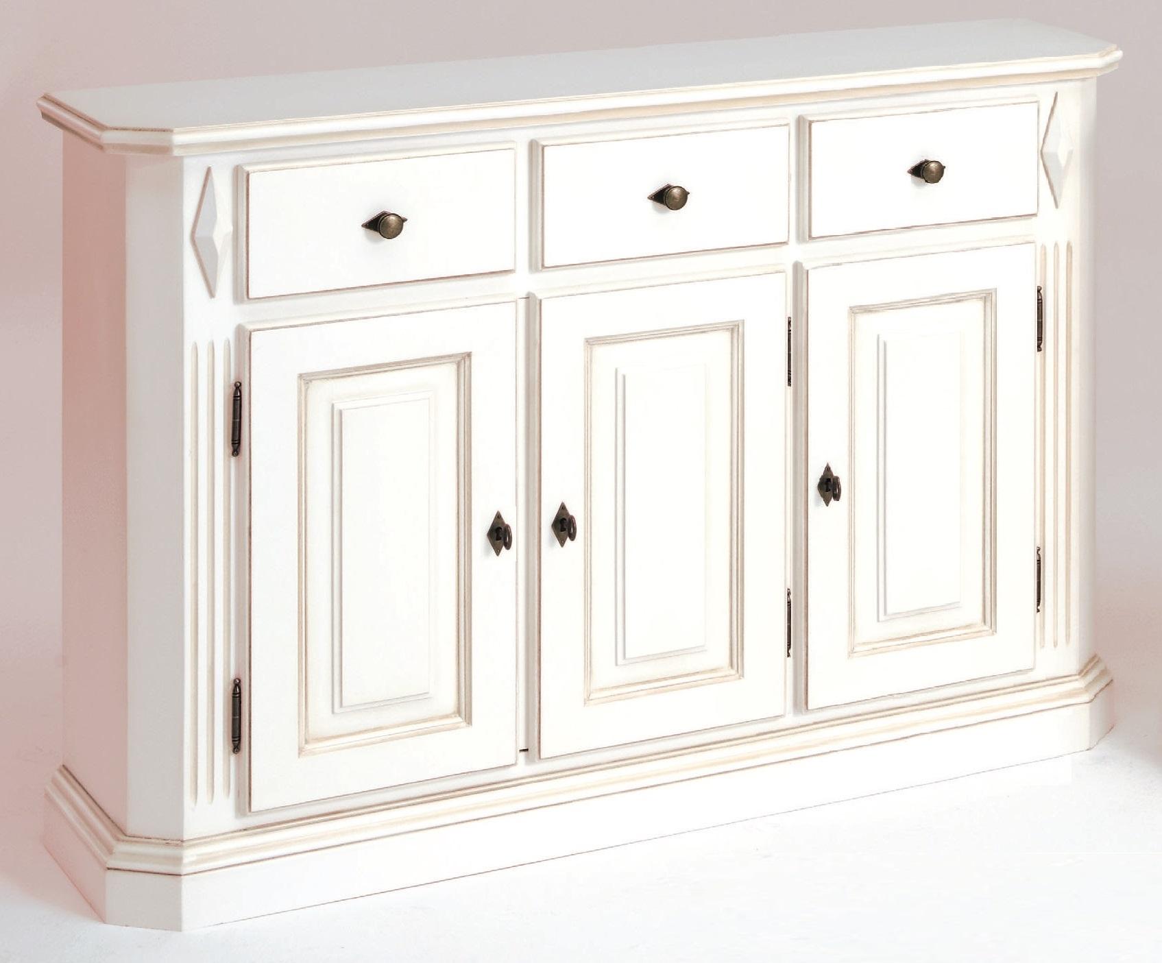 aktiv kommode konsole anrichte sideboard fichte massiv antik wei mod 502 landhaus. Black Bedroom Furniture Sets. Home Design Ideas