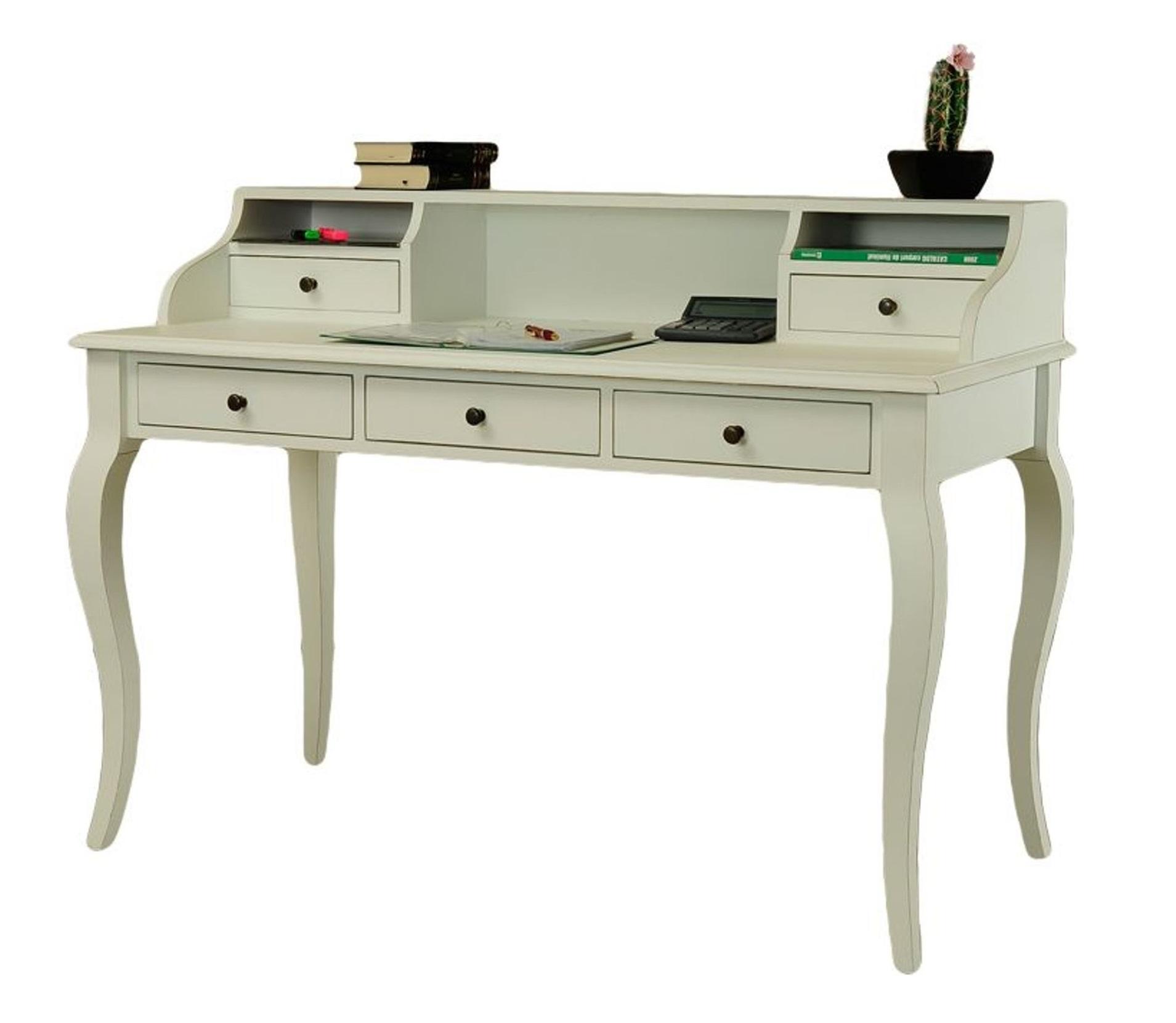 Schreibtisch vintage  Schreibtisch Sekretär Designer Fichte massiv Vintage weiß Paris DM55 klassik