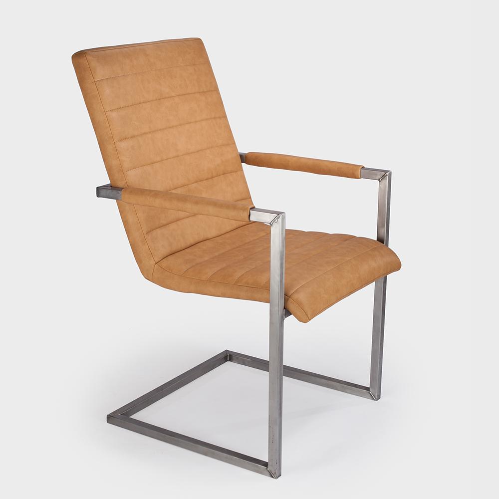 aktiv schwingstuhl freischwinger designer kunstleder vintage armlehne kassel kos 8. Black Bedroom Furniture Sets. Home Design Ideas