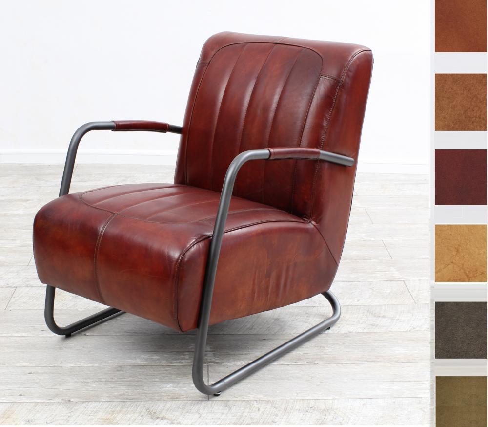 aktiv sessel stuhl designer m nchen nr 2 echt b ffel leder vintage farbe dark. Black Bedroom Furniture Sets. Home Design Ideas