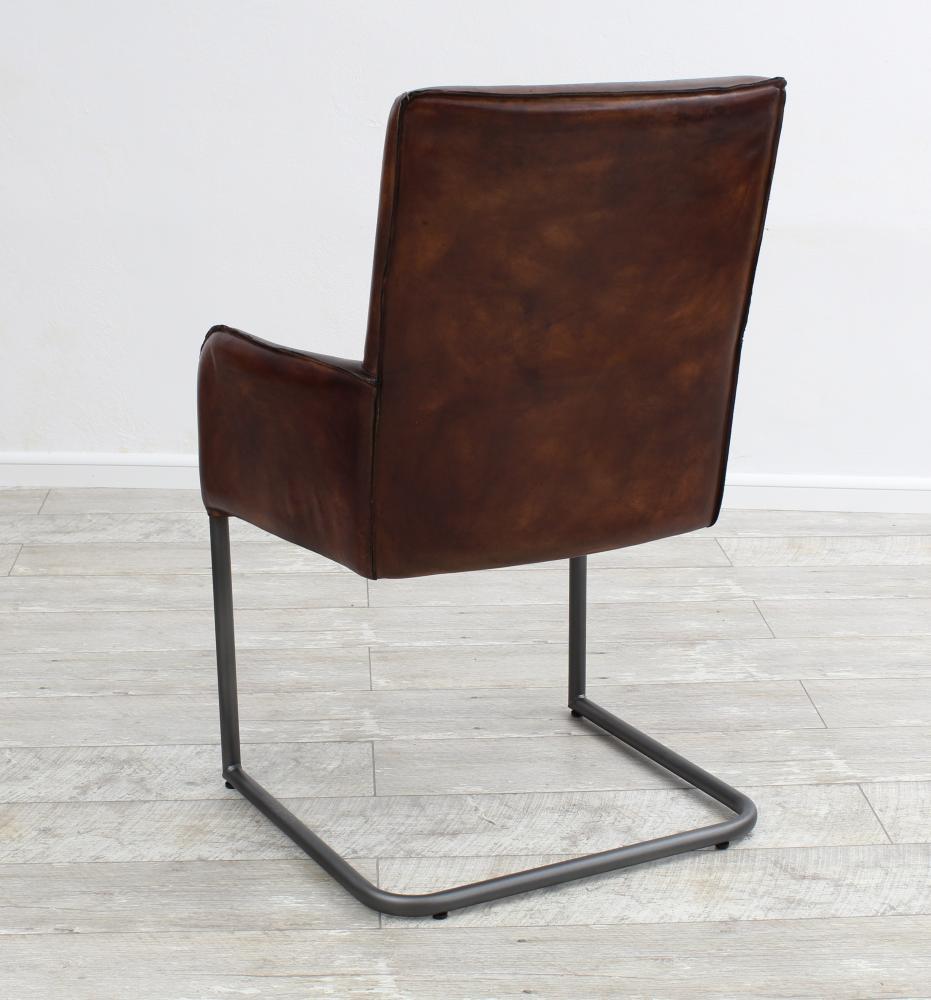 aktiv schwingstuhl freischwinger designer k ln echt b ffel leder vintage. Black Bedroom Furniture Sets. Home Design Ideas