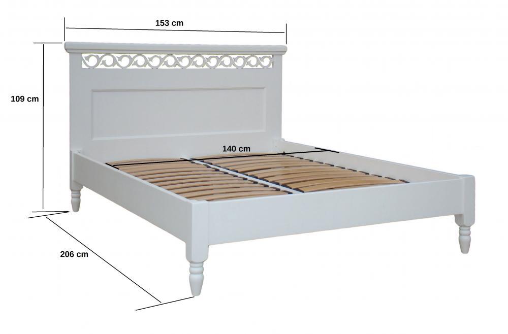 aktiv bett bettgestell 140 x 200 cm fichte. Black Bedroom Furniture Sets. Home Design Ideas