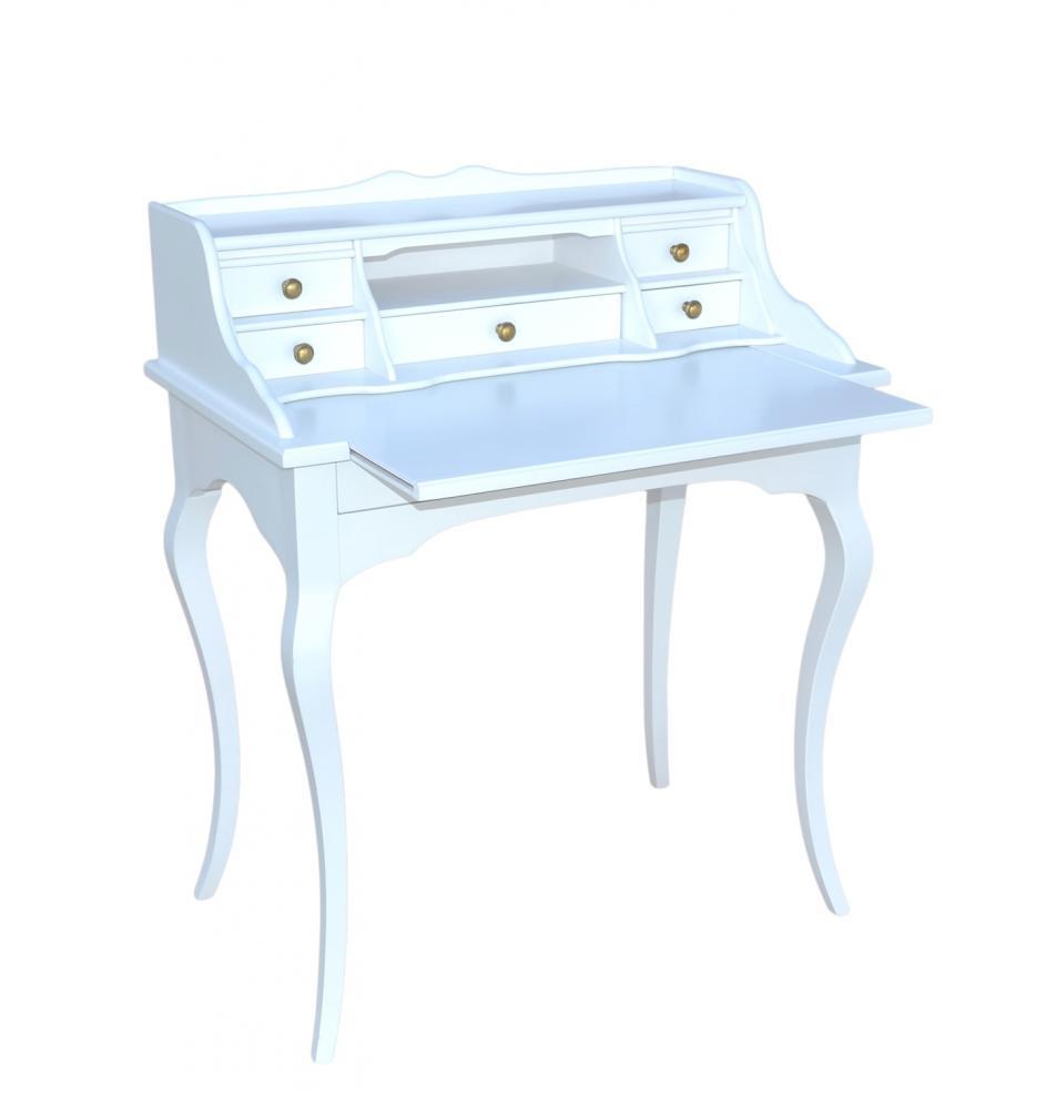 aktiv schreibtisch sekret r designer fichte massiv vintage wei paris dm209 barock. Black Bedroom Furniture Sets. Home Design Ideas