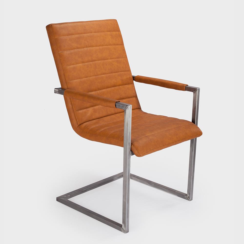 aktiv schwingstuhl freischwinger designer kunstleder vintage armlehne kassel kos 5. Black Bedroom Furniture Sets. Home Design Ideas